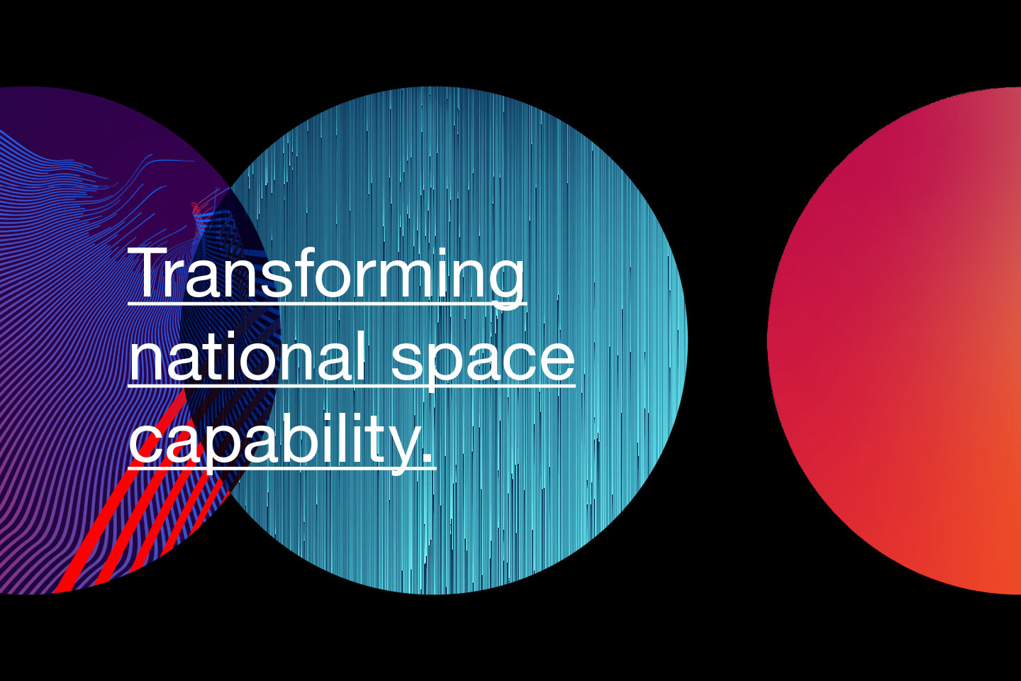 Transforming national space capability
