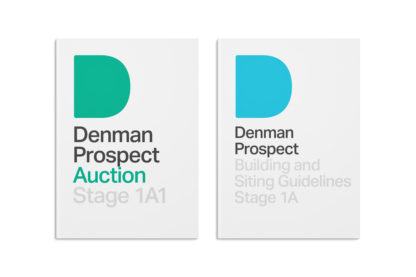 Design of the auction brochures for Denman Prospect